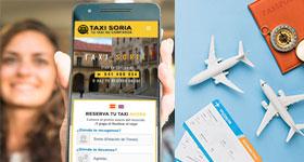 Taxi Soria: Transfer Aeropuerto de Madrid